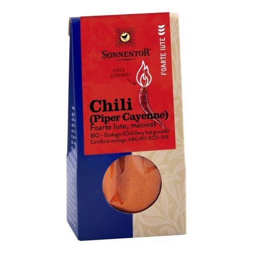 Chili foarte iute macinat (Piper Cayenne)