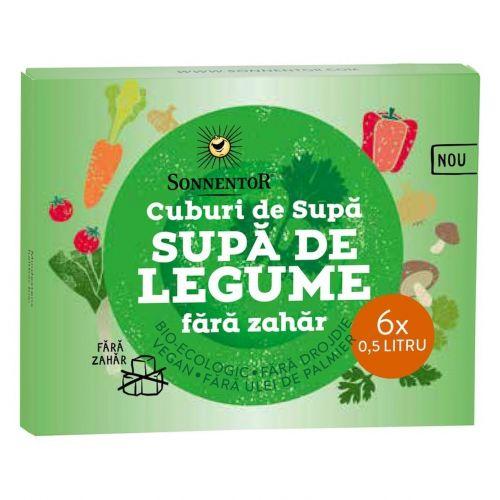 Cub Supa de legume fara zahar