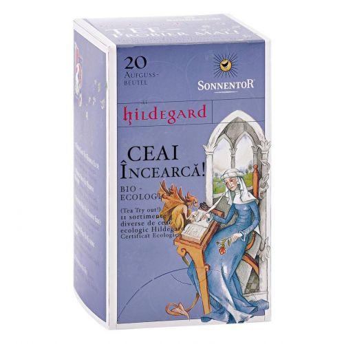 INCEARCA! - Ceai Hildegard - 20 plicuri diferite sortimente