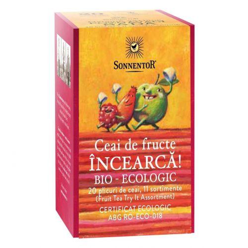 INCEARCA! - Ceai fructe - 20 plicuri - diverse sortimente