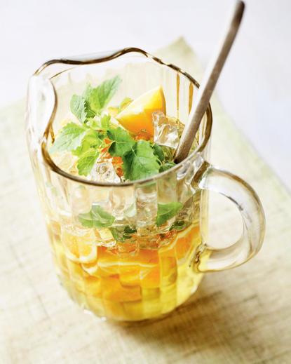Cocktail Ghimbir-Lămâi cu Portocale