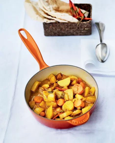 Curry picant de legume