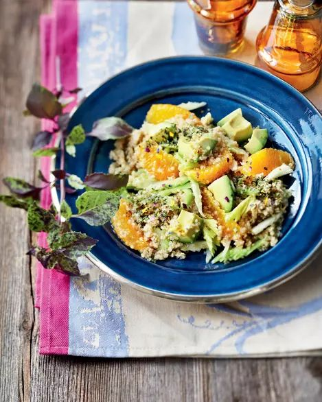Salată de portocale și avocado