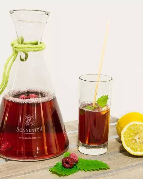 Un Deliciu al Fructelor cu Ice Tea