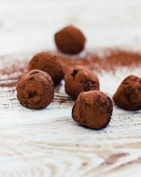 Trufe cu ciocolată și cafea